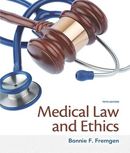 Medical law and ethics 5th edition products medical law and ethics 5th edition fandeluxe