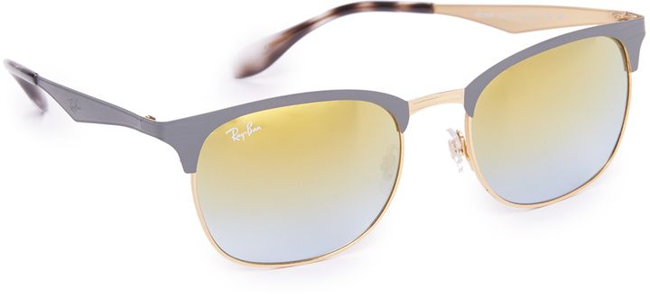 Ray-Ban Matte Clubmaster Sunglasses - $112.00