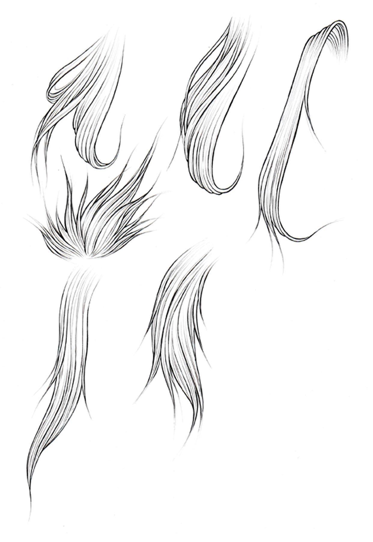 Kanji de Manga Vol 3 cover image How to draw hair, Anime