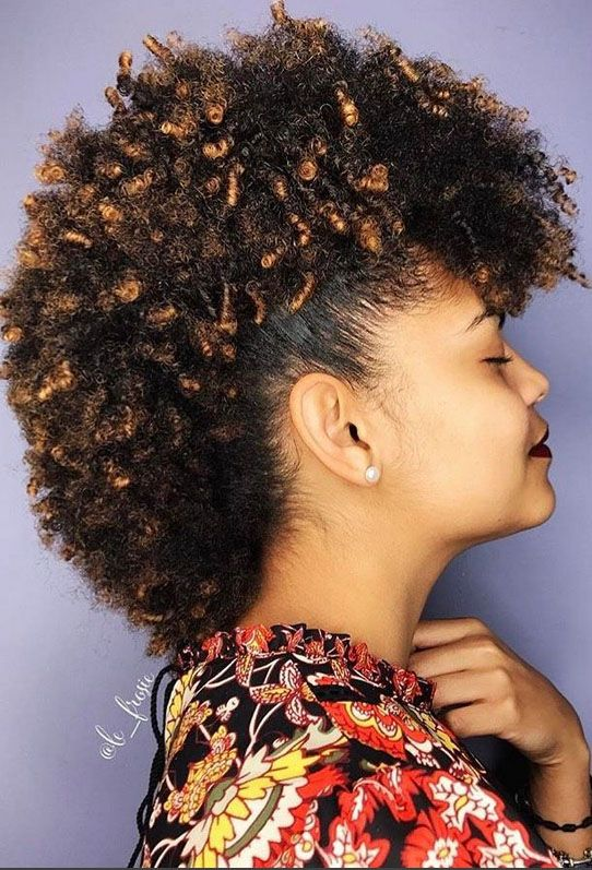 23 Mohawk Hairstyles For When You Need To Channel Your Inner Rockstar Natural Hair Mohawk Hair Styles Natural Hair Styles