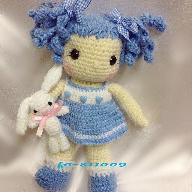 Pin de Rose Bud en Crochet dolls   Pinterest   Muñecas, Patrones ...