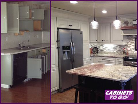 Exceptionnel Tackling Kitchen Cabinets In Atlanta With Cabinets To Go   See More At:  Http: