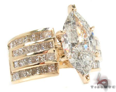 Marquise Cut Diamond Rings Ring 31316