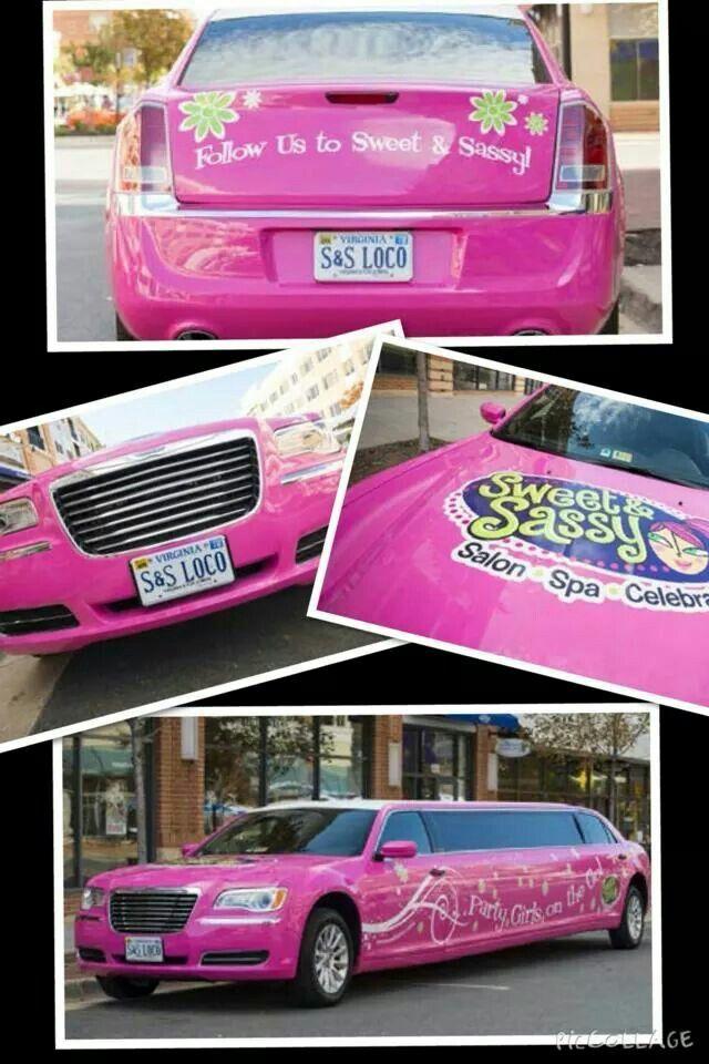 Nuce pink car