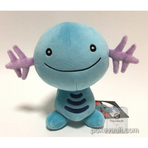 Pokemon Center 2017 Wooper Plush Toy | Pokemon Plushies | Pinterest