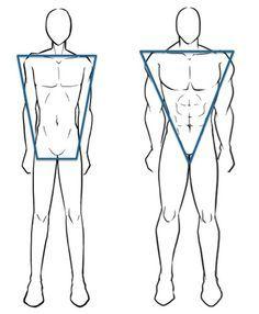 effb74b35e inverted triangle body shape men - Google Search