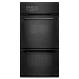 Maytag 24 In Single Gas Wall Oven In Black Cwg3600aab The Home Depot Single Gas Wall Oven Gas Wall Oven Wall Oven