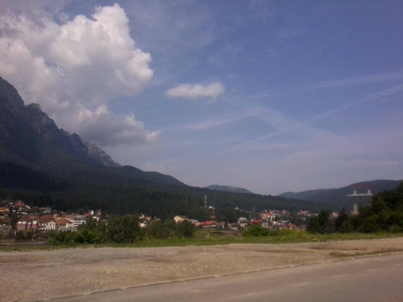 Bucegi Mountains (Chain of Mountains from The Carpathian Mountains)