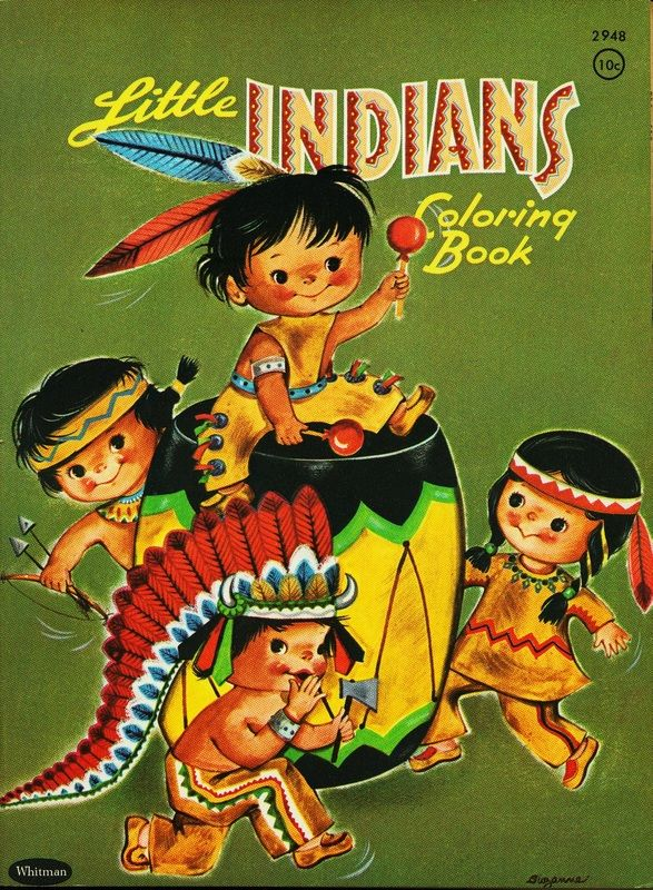 Little Indians Coloring Book