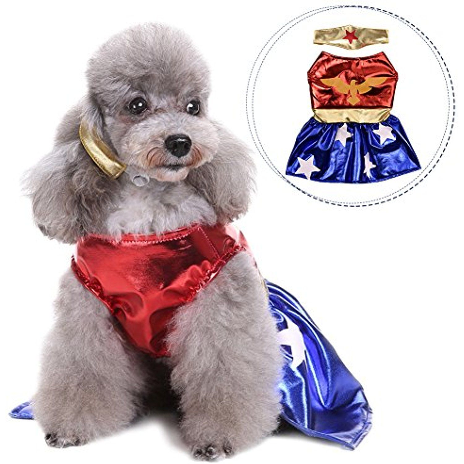 Awtang Dog Festival Clothes Party Dress Skirt Special Events