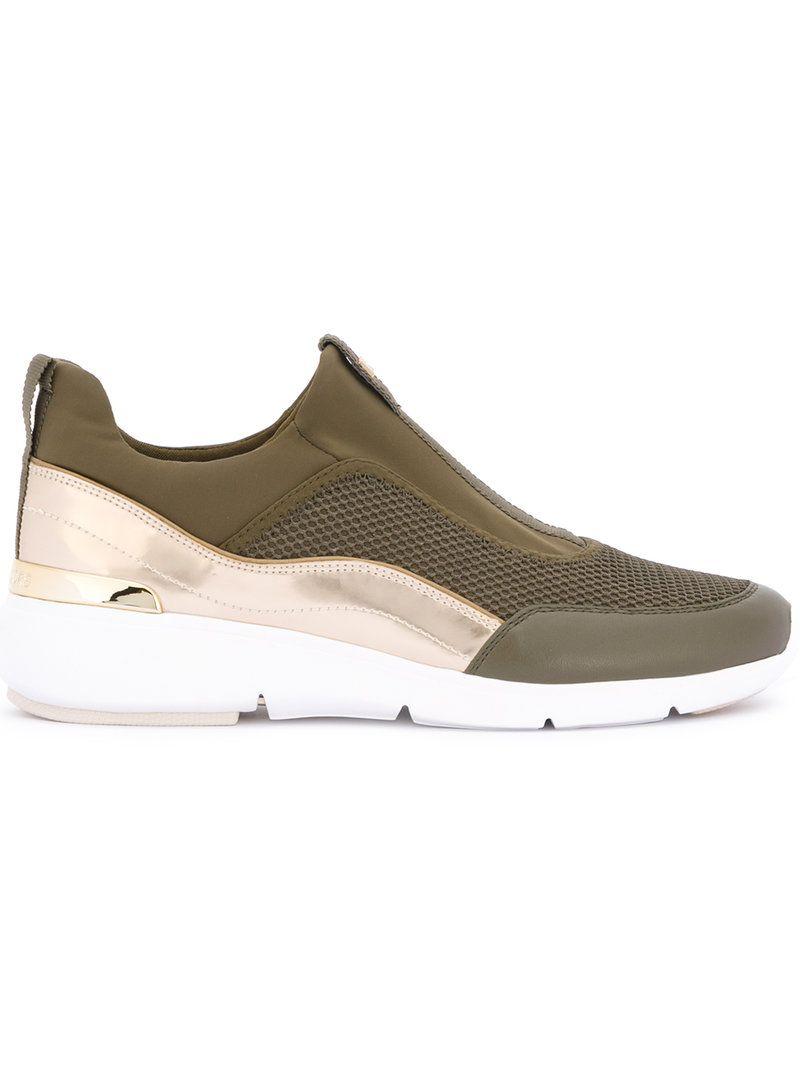 michael kors green sneakers