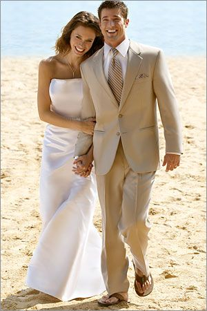groomsman tux but with brown dress shoes not flip flops | Mr & Mrs ...