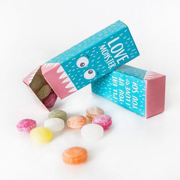 Loopdsgn Bonbons Love Monster Valentinstag Geschenk Fur Ihn