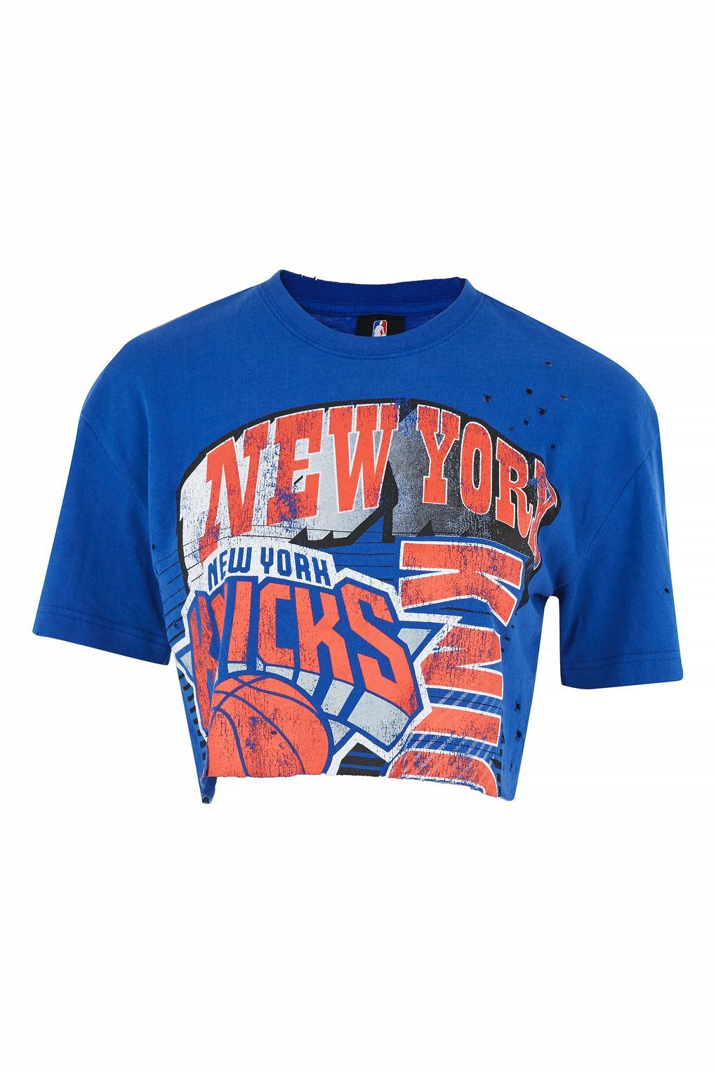 c8a2d94d685 New York Knicks Crop Top by UNK X in 2019