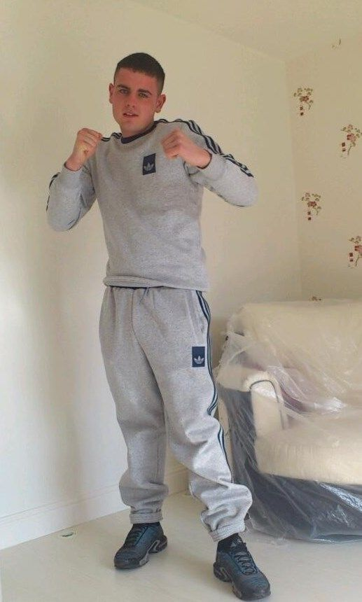 scally lad looking for a fight !!!