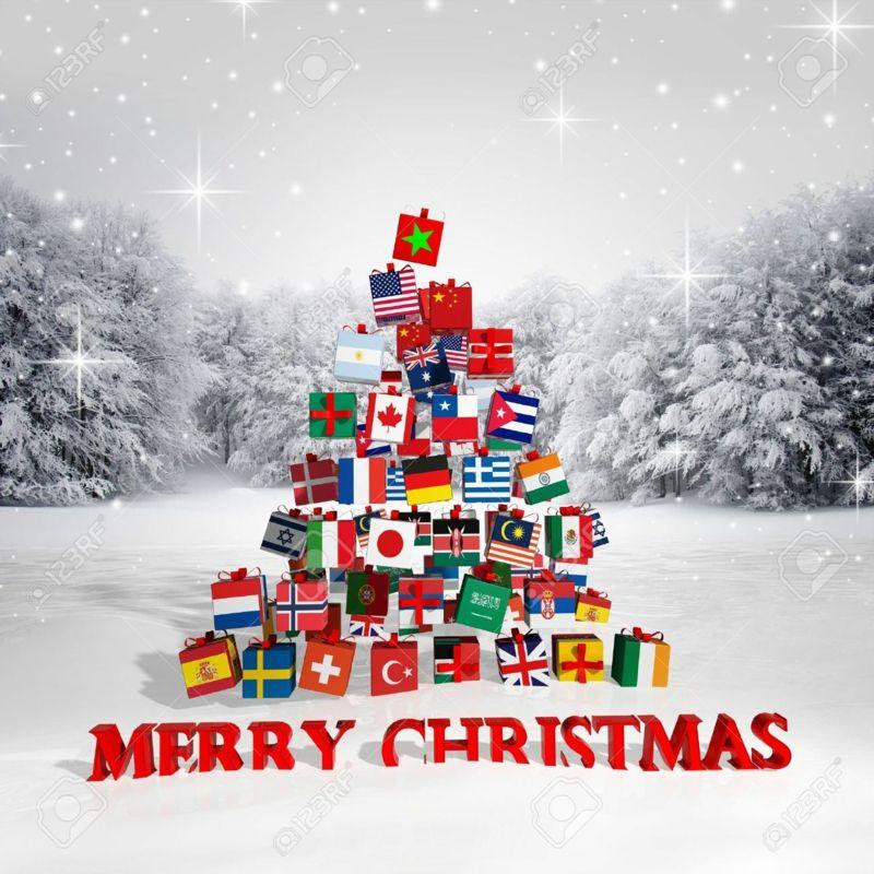Frohe Weihnachten Englisch.Frohe Weihnachten Auf Verschiedenen Sprachen Sagen Sie S Mal Anders