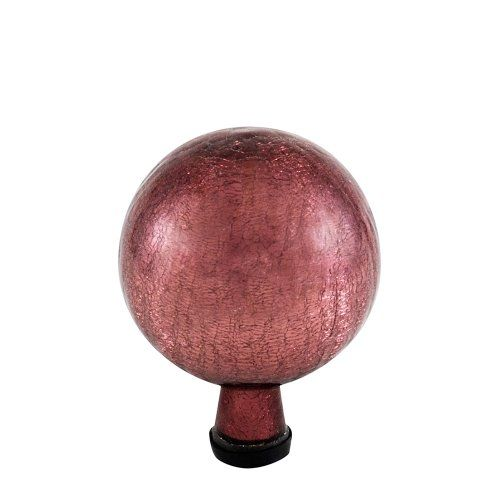 Achla Designs Gazing Globe 10Inch Plum Crackle *** Be sure to check out this awesome product.