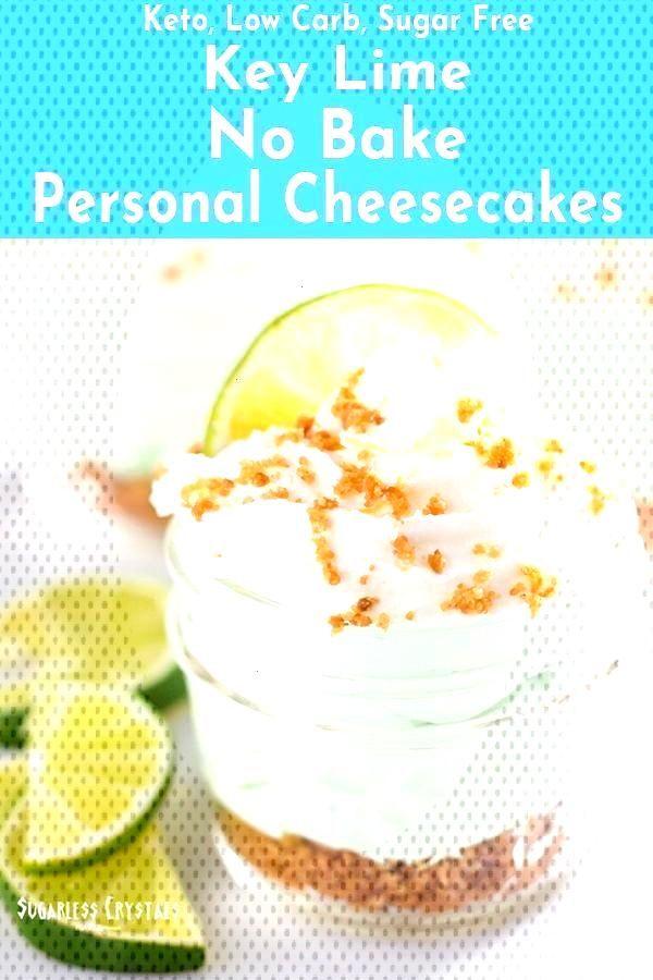 Key Lime Keto Cheesecake No Bake (Low Carb, Sugar Free) -