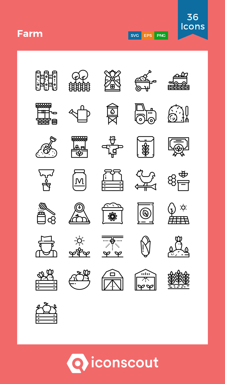 Download Farm Icon Pack Available In Svg Png Eps Ai Icon Fonts Icon Pack Icon Icon Font