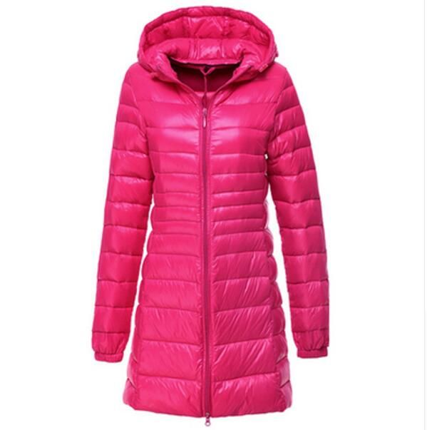 HIJKLNL Winter Women Duck Downs Jacket Coat Slim Parkas Ladies - online küchen bestellen