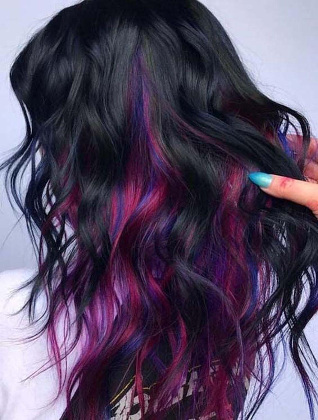 36 Stylish Hair Color Ideas In 2019 In 2020 Hair Styles Vivid Hair Color Latest Hair Color