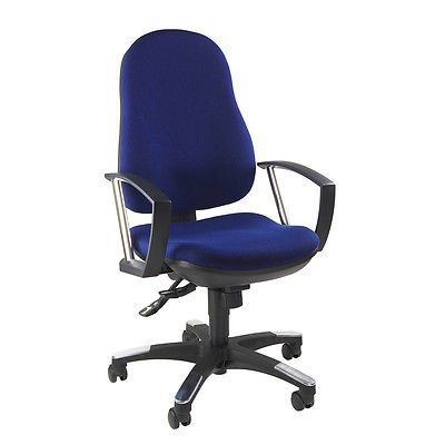 Bürostuhl Schreibtischstuhl Drehstuhl Trend SY blau