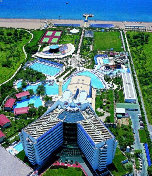Titanic Beach Lara Is The Dream Hotel Of Antalya Dream Hotels Hotel Resort Architecture