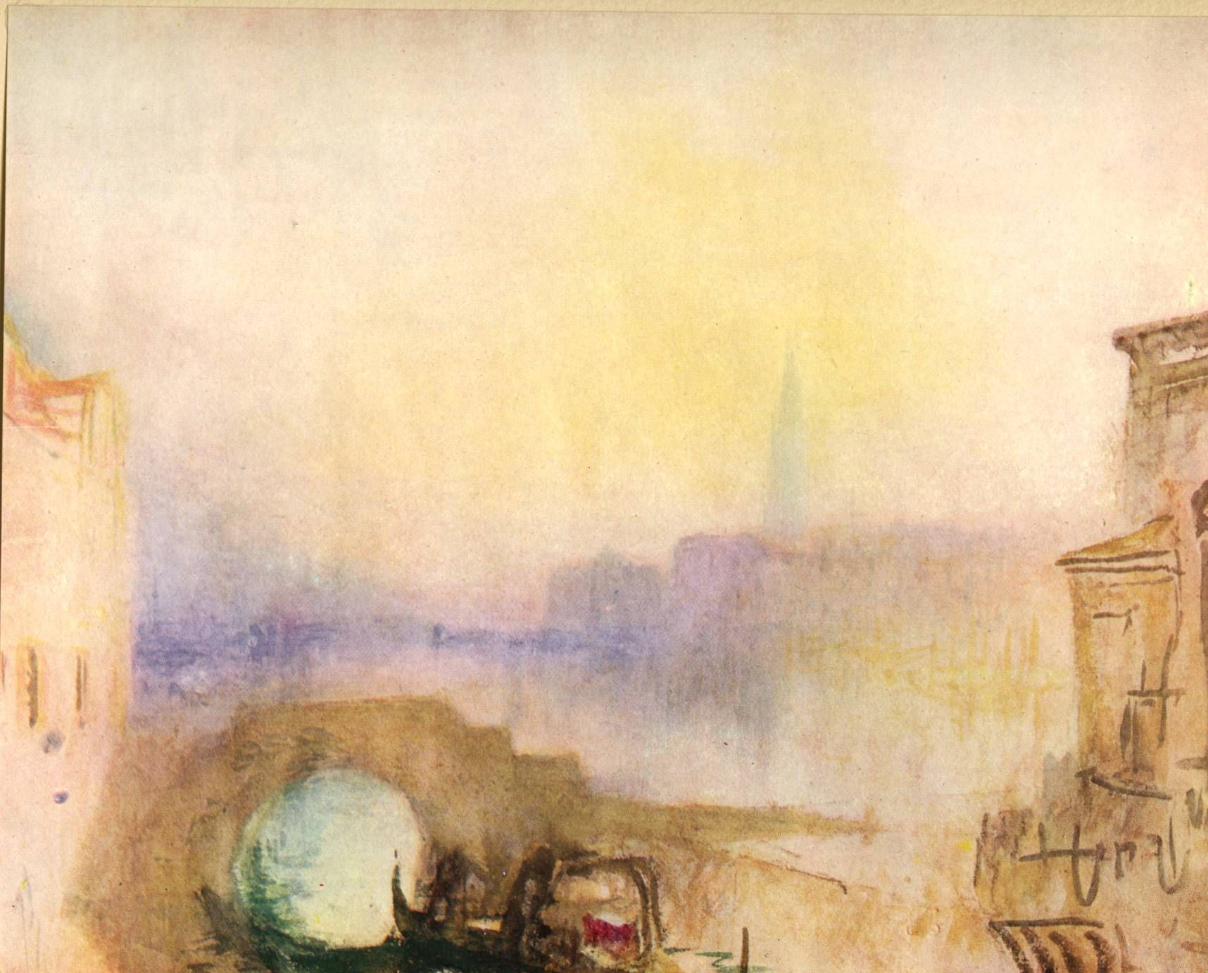 Jmw Turner Watercolor Paintings Art Millbank London Now