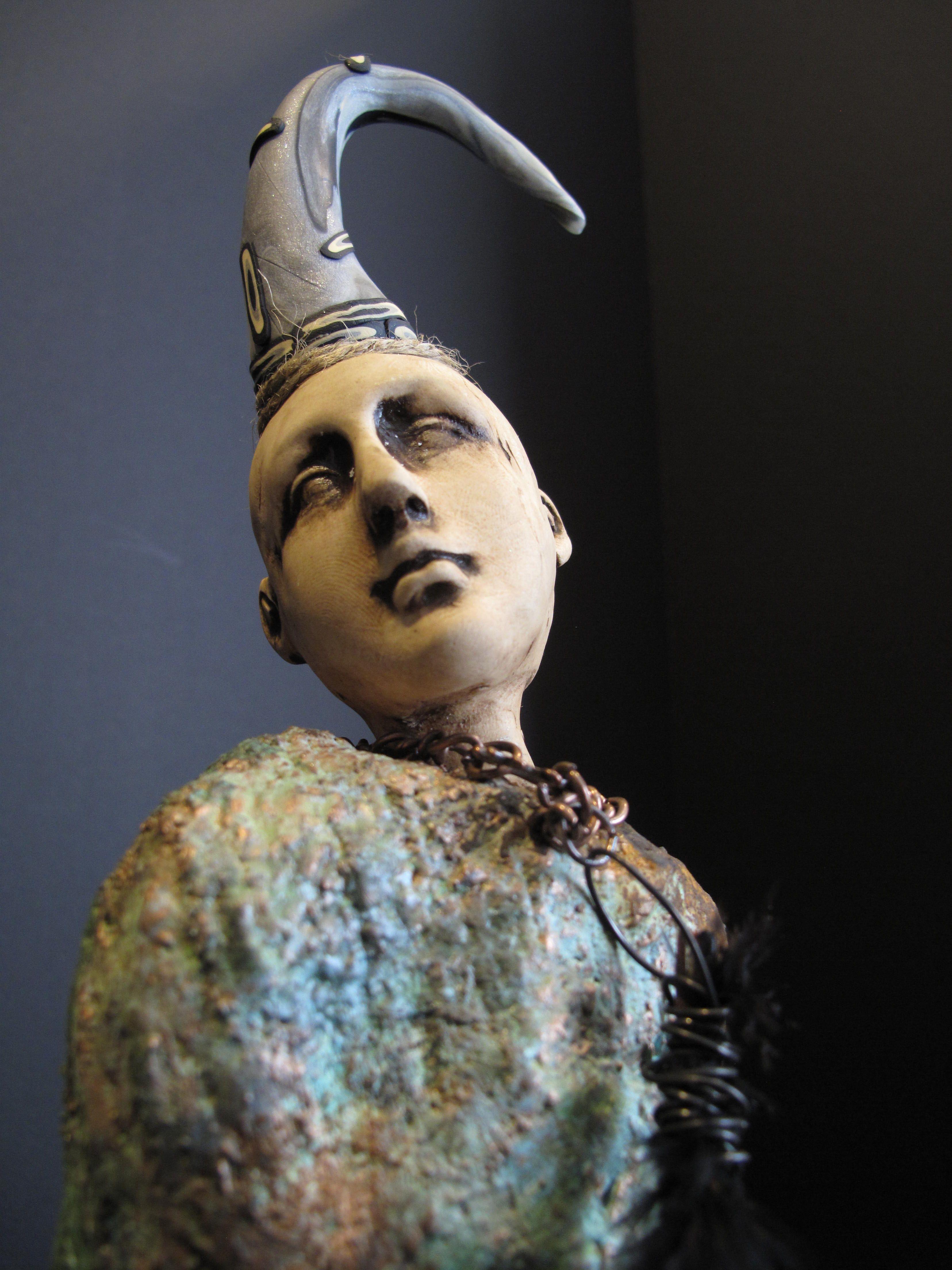 Artist lisa renner figurative sculpture sculpture clay