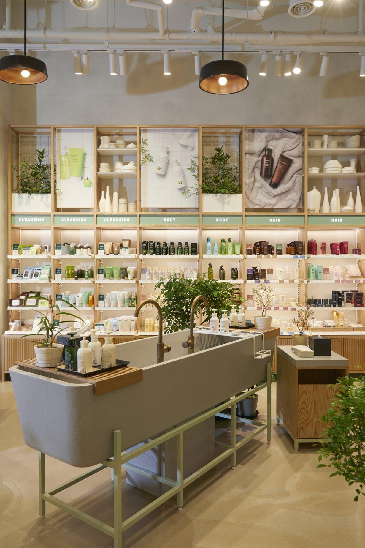 Innisfree Gangnam Seoul South Korea Mapos Architects Dpc Archinect Pharmacy Design Store Design Interior Retail Design