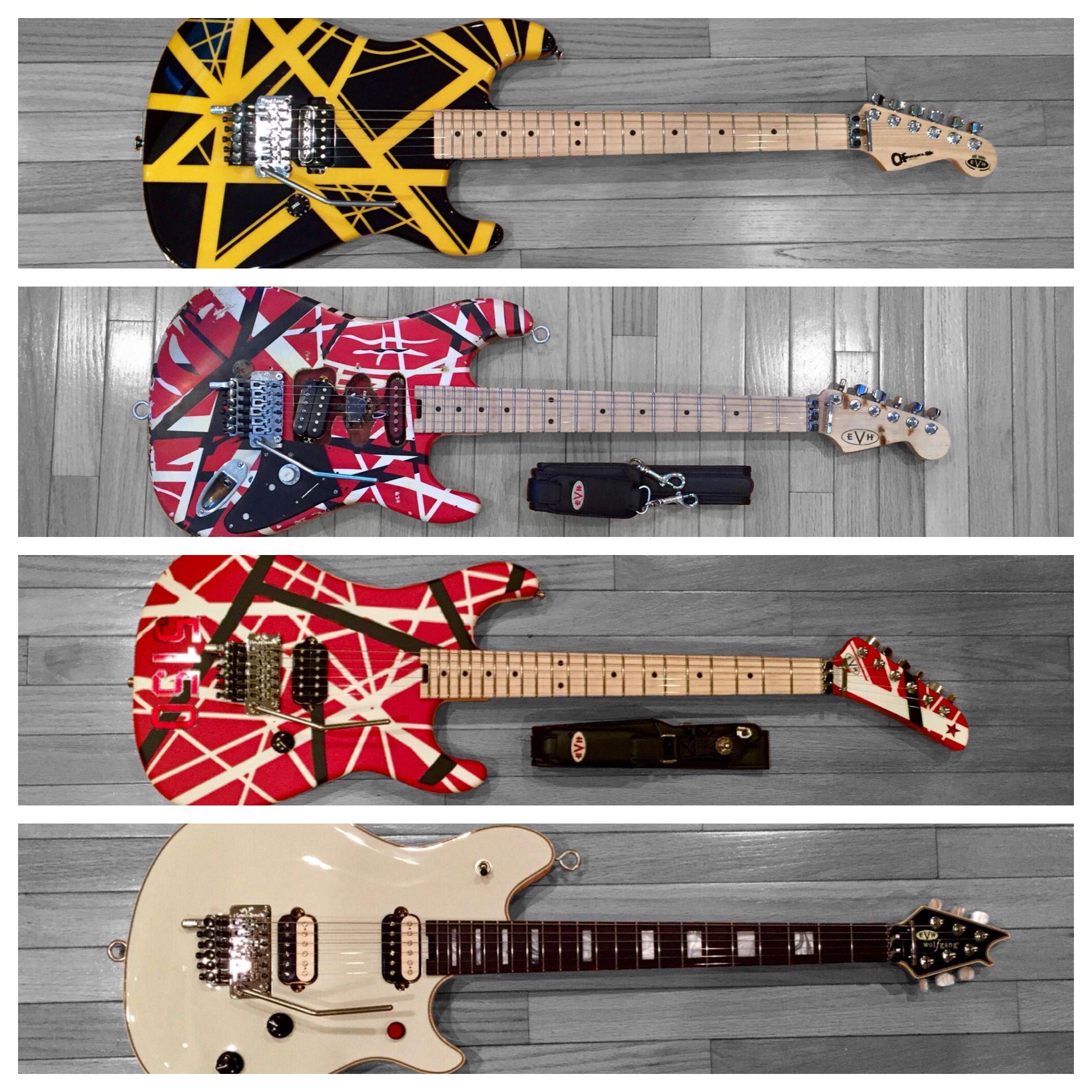 Charvel Evh Yellow Black Striped Judah Guitars Fender Evh Frankenstrat Fender Evh 5150 Evh Wolfgang Usa Unique Guitars Guitar Center Eddie Van Halen