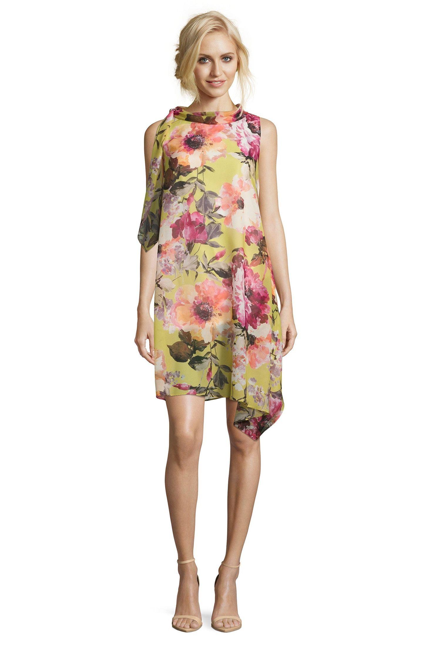 Leichtes Sommerkleid aus Chiffon | Abendkleid, Modestil ...