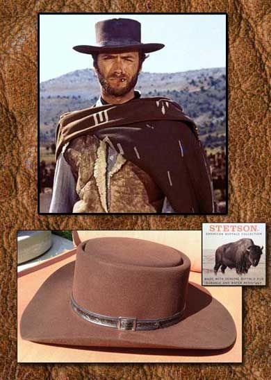 Stetson 4X Buffalo Fur Dejango Style Hat  178.00 High grade 4X Buffalo Fur  - Brim 3-1 2