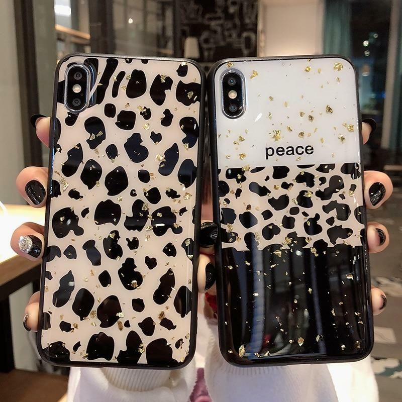 Leopard Print Phone Case Cover