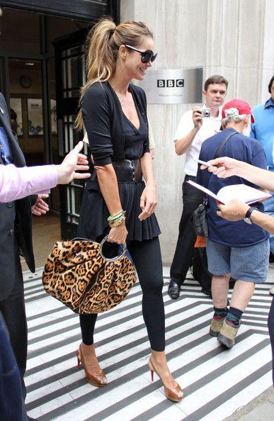 Elle Macpherson Street Style 2015