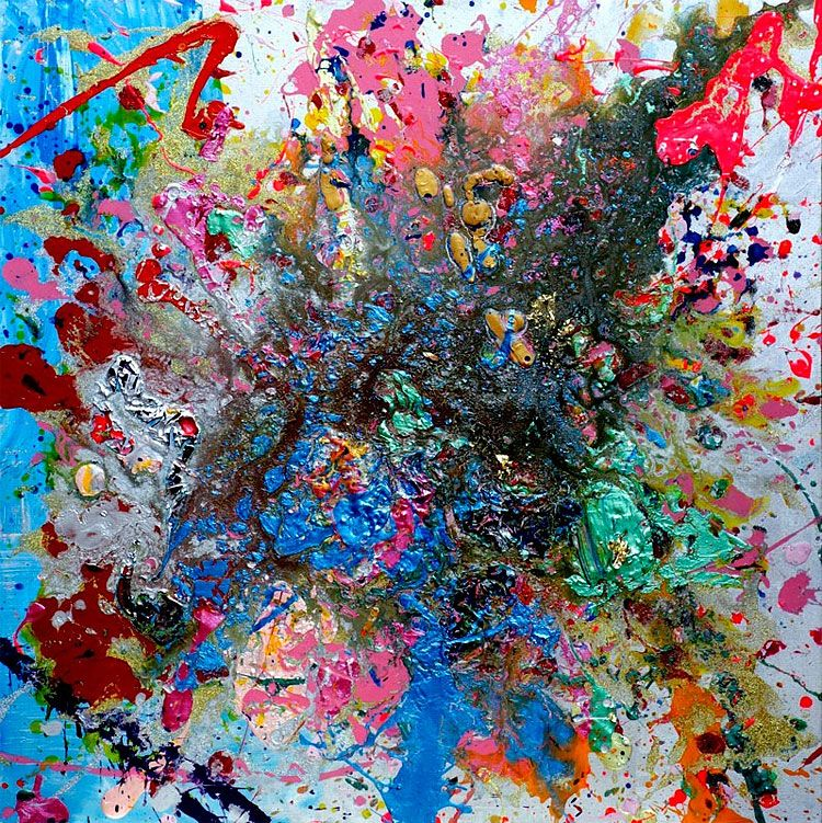 Aelita andre a four year old abstract painter pinturas for Pinturas para el hogar