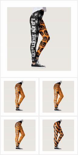50940819700a9 Cool Halloween Running Leggings | Cool Running Stuff | Running ...