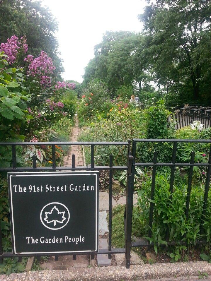 Riverside Park   91st Street Garden