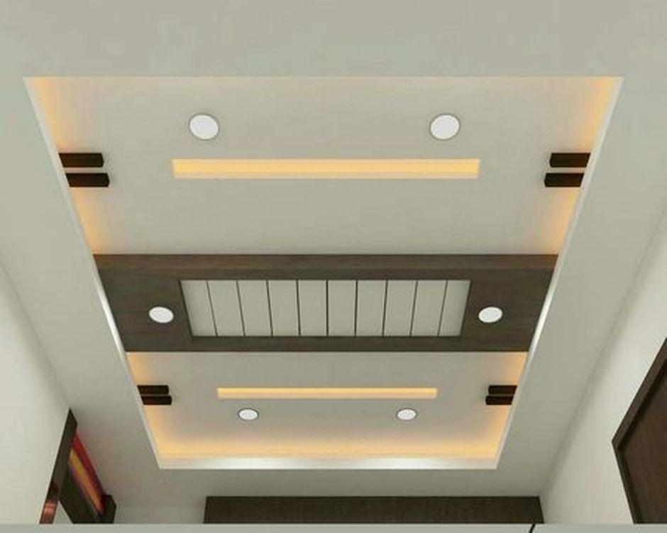 90 Best Modern Ceiling Design For Home Interior Simple False
