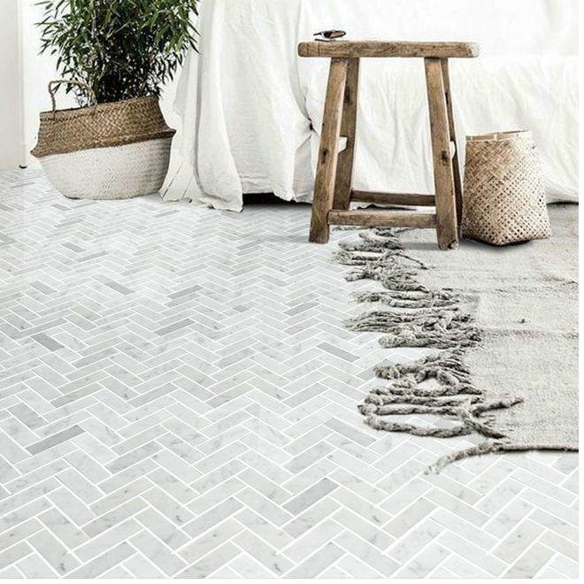 Bad Wand Und Boden Mosaik Fliese Kuche Backsplash 14 2 13 4 Quot Fischgrat Backs In 2020 Mosaic Floor Tile Mosaic Tile Backsplash Kitchen Mosaic Tile Kitchen