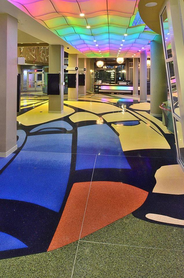 Impeccable Terrazzo Installation By David Allen Company In