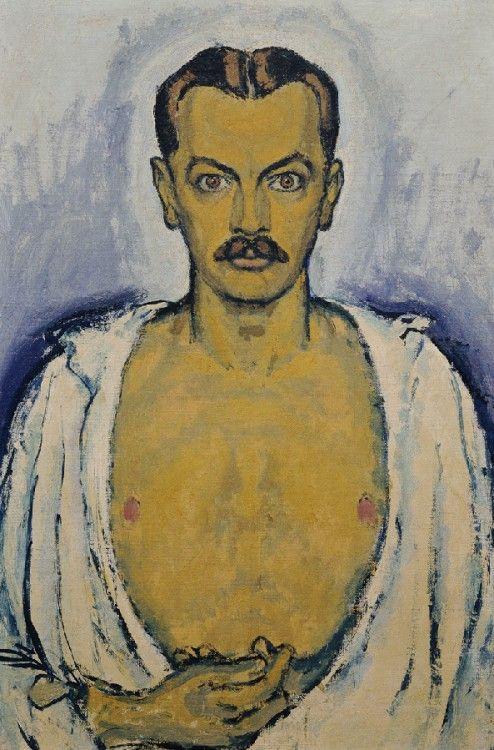 Koloman Moser, Self-Portrait, c. 1916