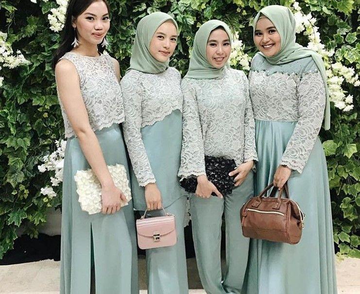 100+ Inspirasi Model Baju Gamis Brokat Terbaru 2019 ...