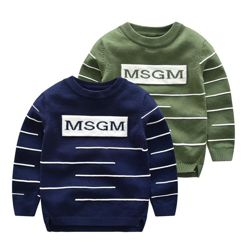 3e9d525364a5 Baby Boy Sweaters Autumn Winter 2018 Children Girls Knitted Sweater ...
