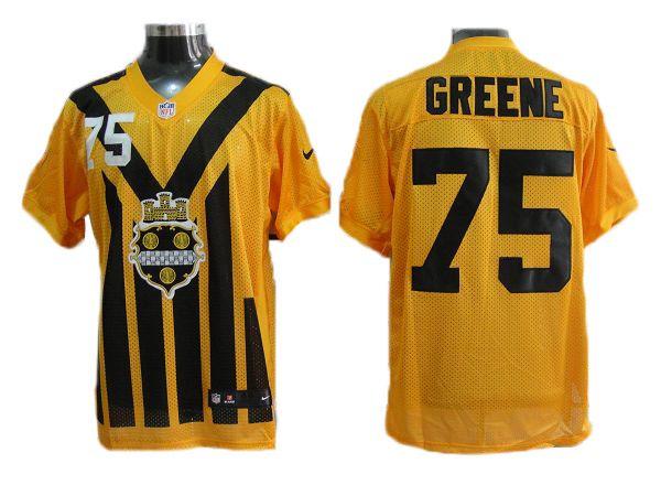 new product 28641 8da8c Greene Yellow Seahawks Nike NFL 1933 throwback Jersey ID ...