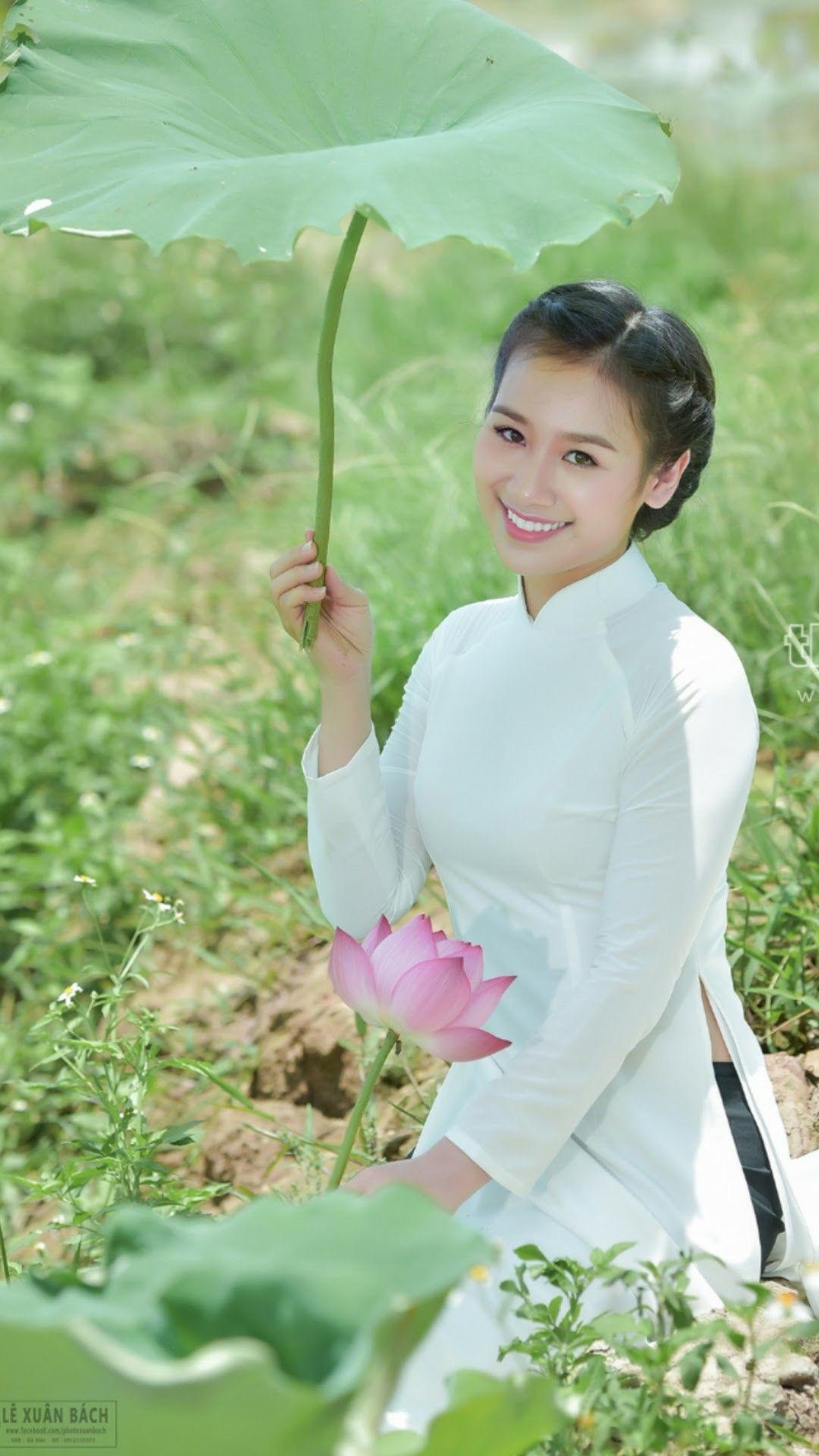 Pin by hoàng anh on chân dung pinterest ao dai and girls