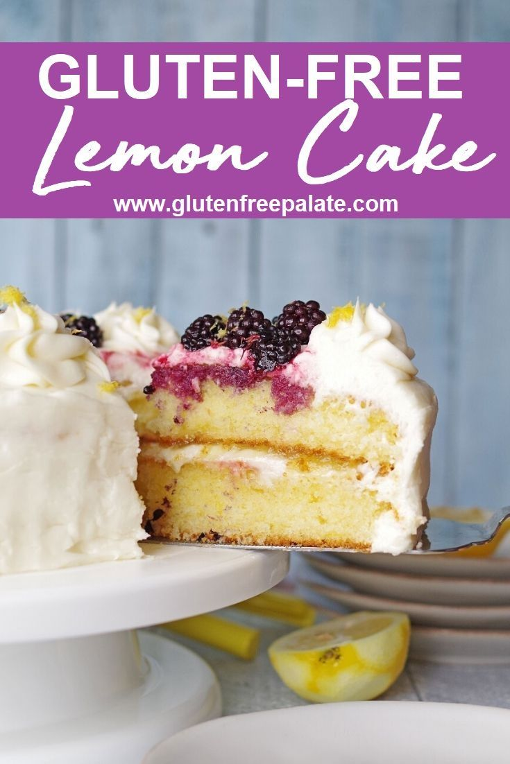 Easy Gluten-Free Lemon Cake