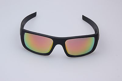 MATTE BLACK/RED OO9239  LENS  OAKLEY#CRANKSHAFT POLARIZED SUNGLASSES #1