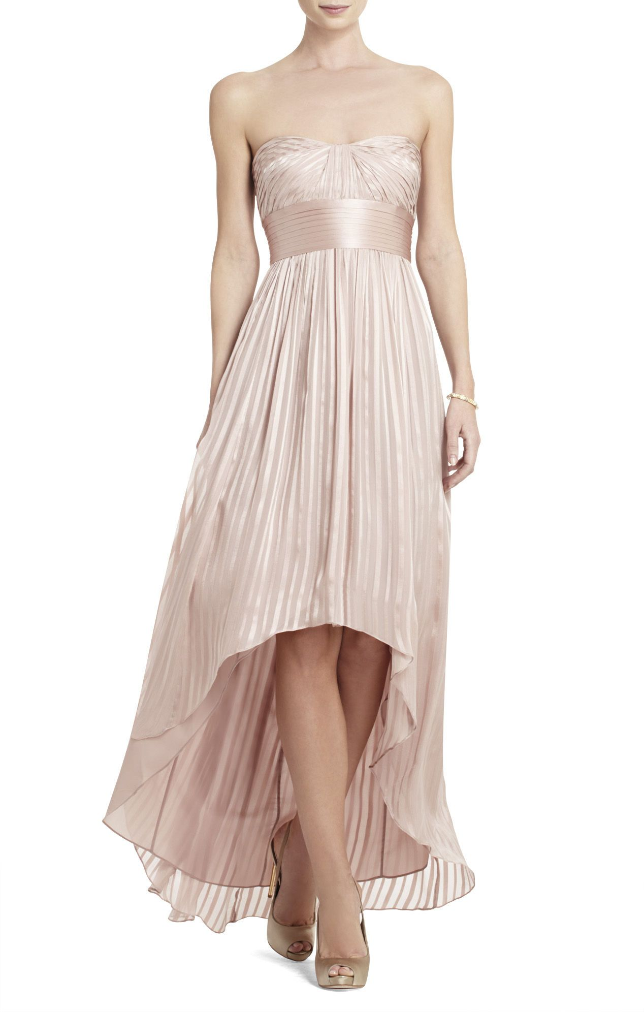 Alicia Silk Charmeuse Sash Gown | BCBG. Really love this dress ...