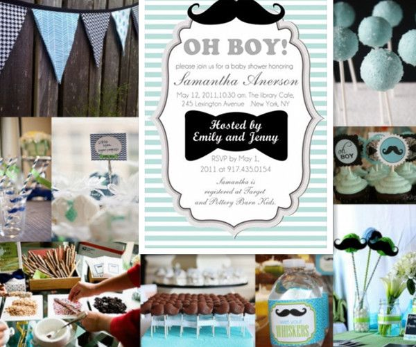 oh boy baby shower ideas